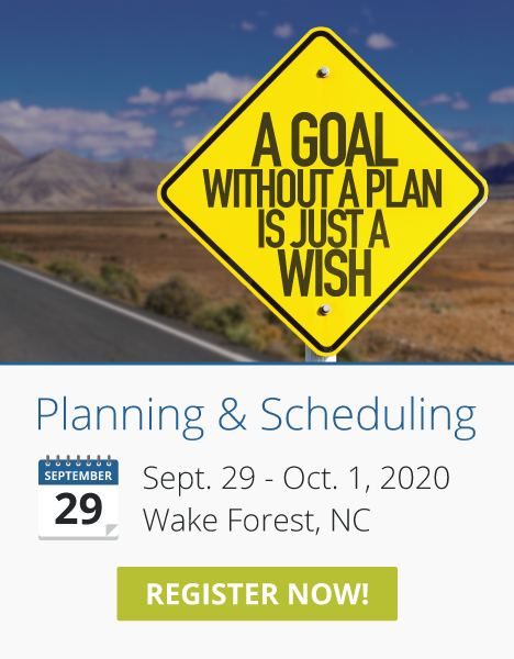 Planning & Scheduling Course